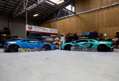 Partnership with South San Francisco Fire Department Christmas Toy Drive